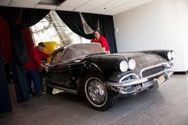1962 corvette pics corvette museum commemorates sinkhole s third anniversary with