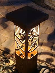 Bollard Landscape Lighting Decorative Steel Bollard Lights
