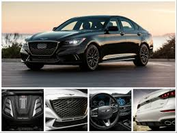 what are the best features of the new 2018 genesis g80 sport trim