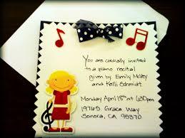 em u0027s inspired coincidences piano recital invitations