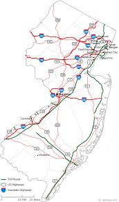 map of nj map of new jersey
