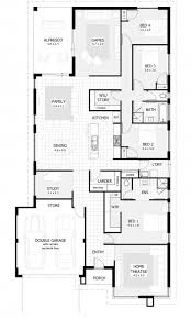 four bedroom floor plans 4 bedroom floor plans house floor plans