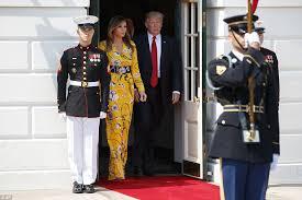 modi dress melania greets indian pm modi at the white house daily