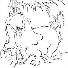 horton hears a who coloring page funycoloring