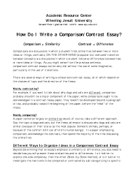 comparison and contrast essay sample pdf how to make a compare and contrast essay outline trueky com compare contrast essay photo examples of scope and delimitation in thesis