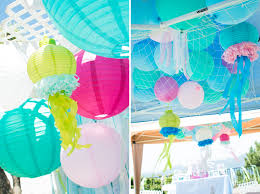 the sea decorations the sea decorations ideas mermaid party