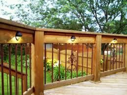 Cheap Backyard Deck Ideas 25 Outdoor Deck Lighting Ideas On Pinterest Trex Decking In Lights