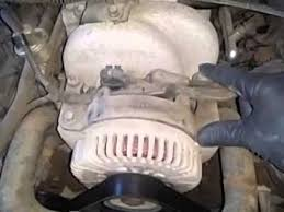 lincoln mark viii alternator youtube