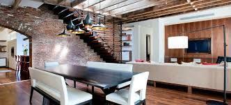 Loft Interior Amazing Loft Interior Design Mixed Materials Style Home