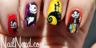 nail nerd nail art for nerds nightmare before christmas nails
