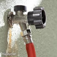 How To Repair A Leaky Faucet Handle Fix A Leaking Frost Proof Faucet Family Handyman