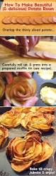 crispy potato roses a truly gorgeous side dish family friends food