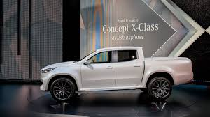 mercedes pickup truck mercedes benz x class pickup concepts revealed nissan navara