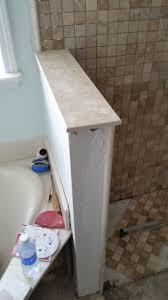 custom travertine bathroom remodel