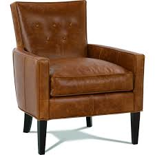Brown Leather Accent Chair Camel Leather Accent Chair House Furniture Ideas
