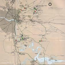 Map Of Northern Virginia Cold Harbor Virginia American Civil War Battle Richmond