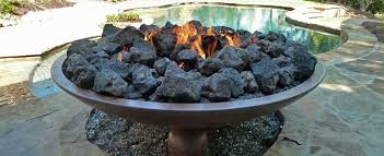 Rock Firepit Fireplace How Can I Get My Gas Pit To A Larger