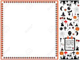 halloween paper border 5 161 halloween border stock vector illustration and royalty free