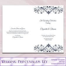 the 25 best wedding ceremony booklet templates ideas on pinterest