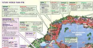 disney epcot map crapstravaganza week 15 epcot 1998 the dod3