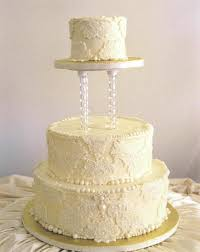 Simple Wedding Cake Designs Vintage Wedding Cakes With Pearls Ideas Wedding Party Decoration