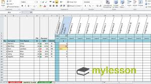 Excel Spreadsheet Examples Excel Spreadsheet For Grades Template