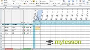 Grade Book Template Excel Excel Grade Book Feedback For Students