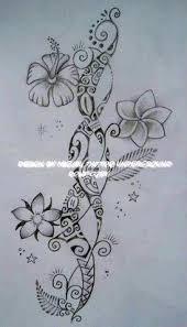 Polynesian Flower Tattoo - polynesian tattoos for women polynesian patterns information