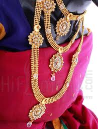 gold set for marriage marriage set with gold indian bridal jewelry