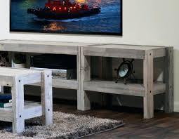 Dark Wooden Tv Stands Coffee Table Reclaimed Entertainment Wall Presearth