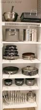 cabinet kitchen pan organizer best pan organization ideas