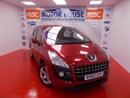 peugeot approved cars used peugeot 3008 sport red cars for sale motors co uk