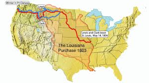 clark map lewis and clark map