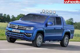 volkswagen pickup 2016 2016 volkswagen amarok aventura review wheels