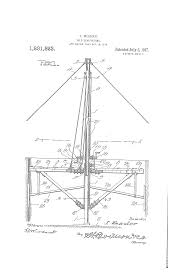 simple silo builder patent us1231823 silo scaffolding google patents