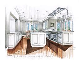 kitchen design sketch design presentation techniques google search interior design