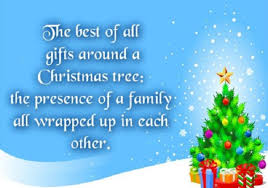 the best of all gifts around any tree is the presence of