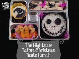 nightmare before halloween lunchbox dad the nightmare before christmas jack and oogie boogie