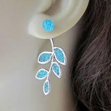 two sided earrings sided earrings front back earrings from aimeezartz