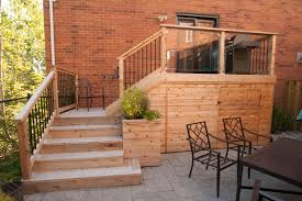 Small Backyard Deck Patio Ideas Small Backyard Deck Patio Idea Hobsonlandscapes Com