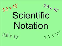 working with scientific notation 13 best math scientific notation images on scientific