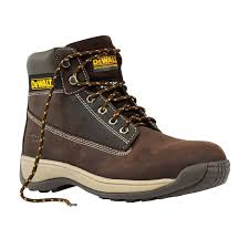 dewalt sale dewalt apprentice safety boots brown size 9