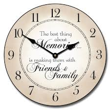 memories clock available to buy online the big clock store