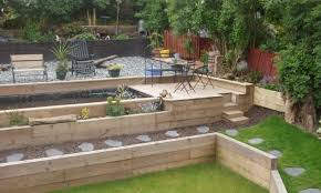 Railway Sleepers Garden Ideas Railway Sleepers Landscaping Ideas Webzine Co