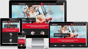 templates bootstrap html5 fitness website template designed by webthemez