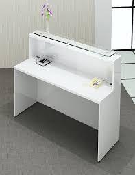 White Reception Desk Gloss Reception Desk With Regard To Reception Desk White Prepare