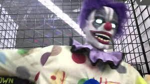 electrified maniac spirit halloween spirit halloween 2014 2013 thrashing clown youtube