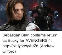 Stan Meme - sebastian stan confirms return as bucky for avengers 4