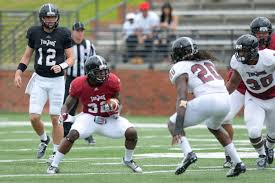 bentley college football bentley burks brandon silvers look sharp for troy offense at t