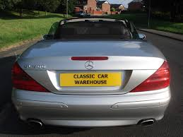 used 2003 mercedes benz sl sl 500 for sale in lancashire pistonheads